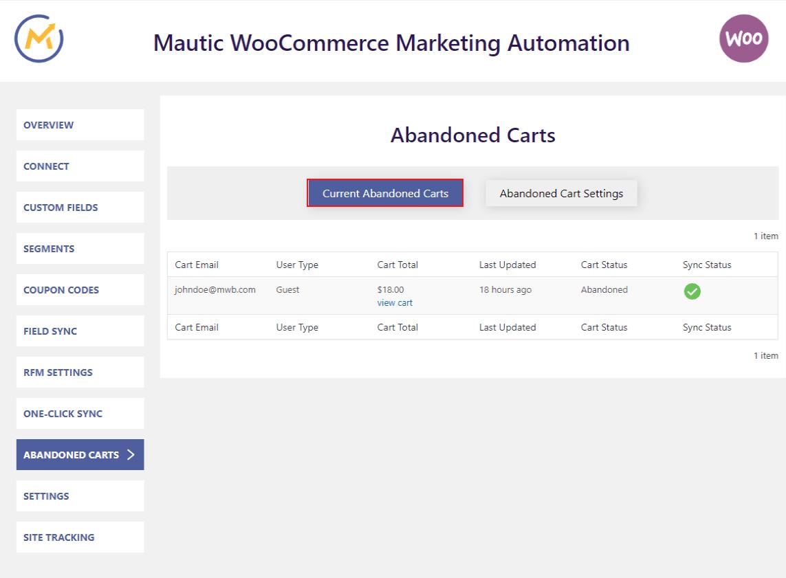 Mautic WooCommerce Integration Pro- Makewebbetter Documentation