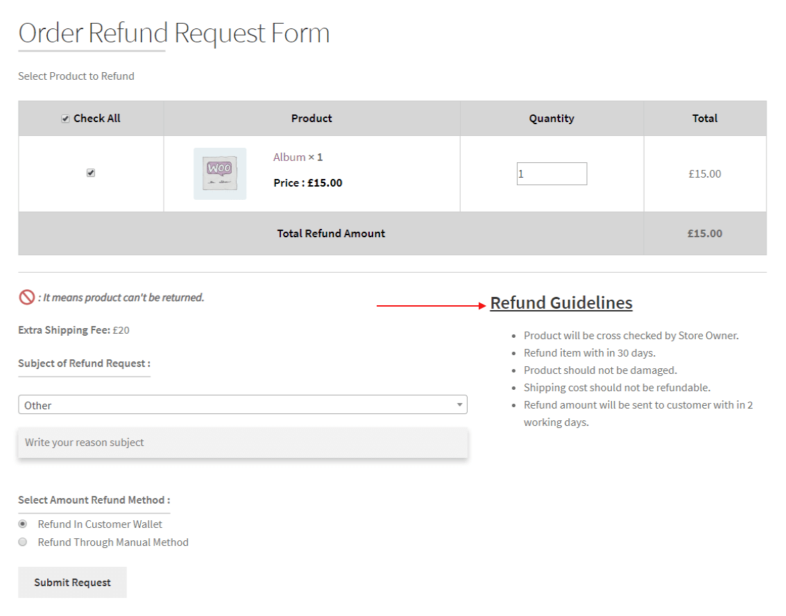 woocommerce-return-refund-exchange-refund-guidelines