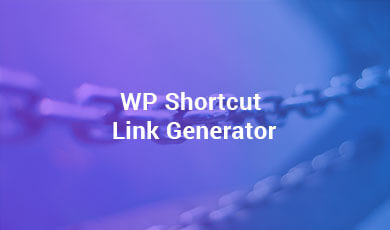 WP-Shortcut-Link-Generator