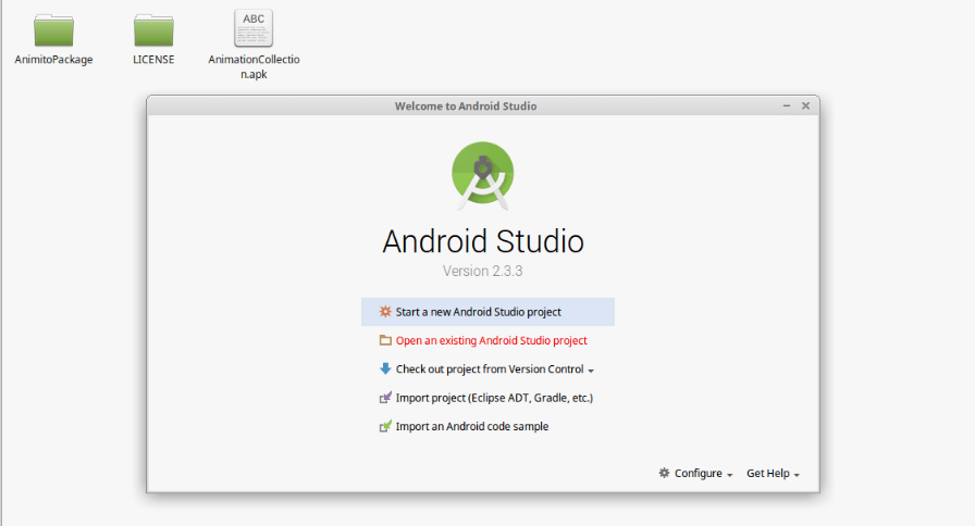 android-animation-collection-open-with-android-studio