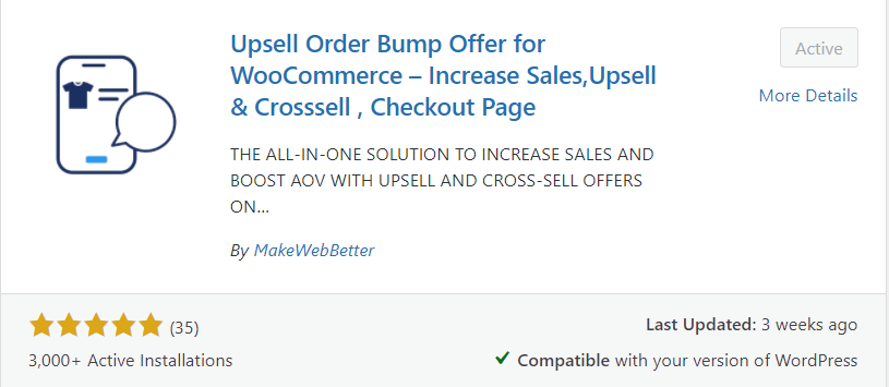 upsell order bump offers