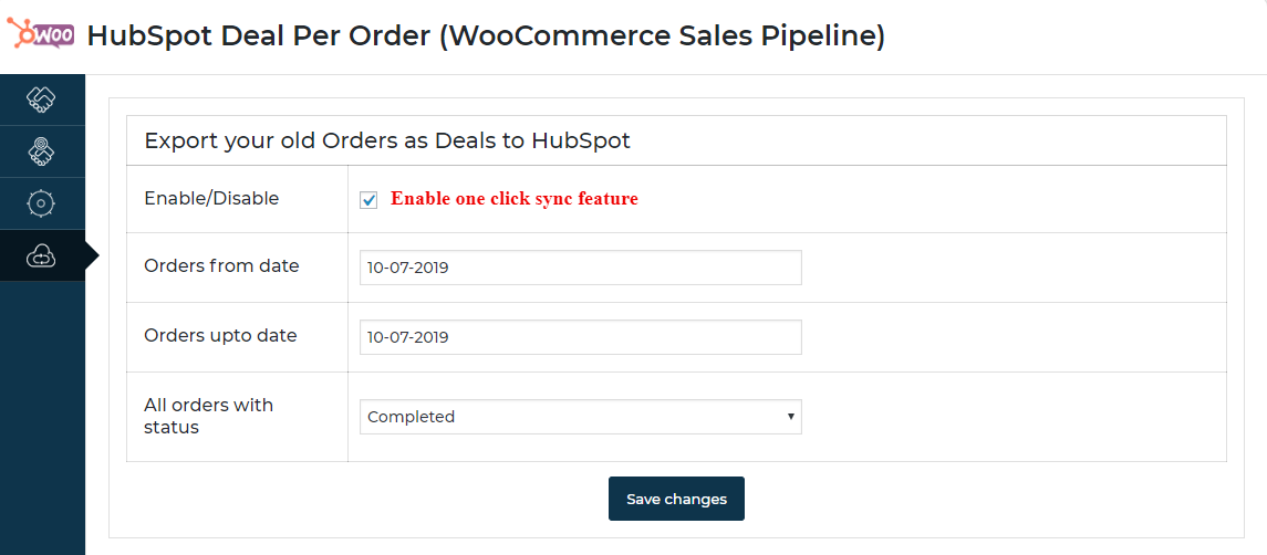 hubspot-deal-per-order-enable-one-click-sync-setting