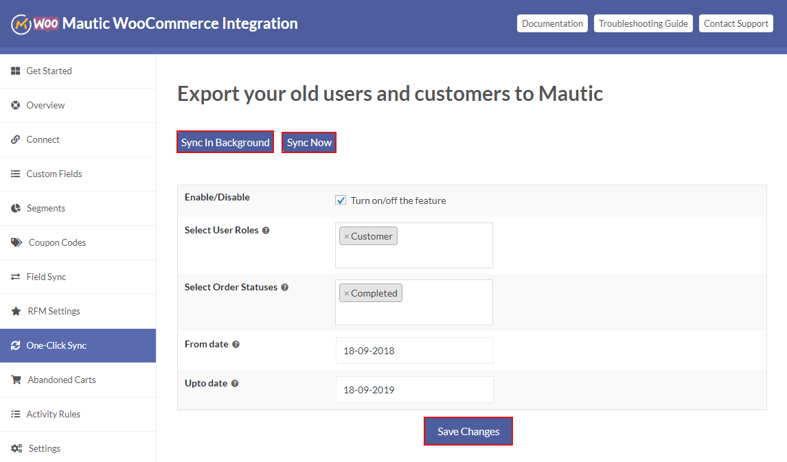 woocommerce-mautic-integration
