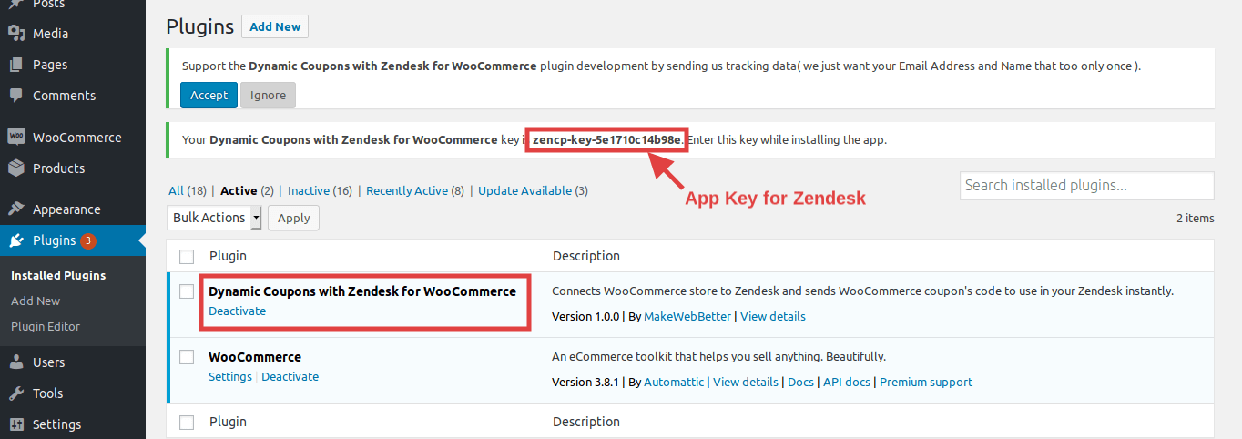 Dynamic coupons with Zendesk for WooCommerce