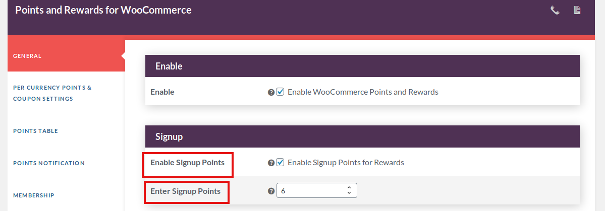 points and rewards for woocommerce