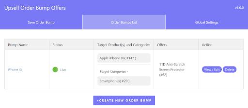 Order-bumps-list