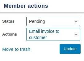 membership action