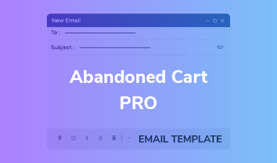 Email Template - Abandoned Cart PRO Template