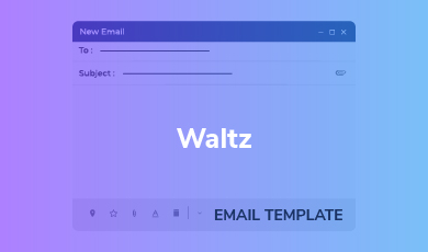 Email Template -Waltz Email Template