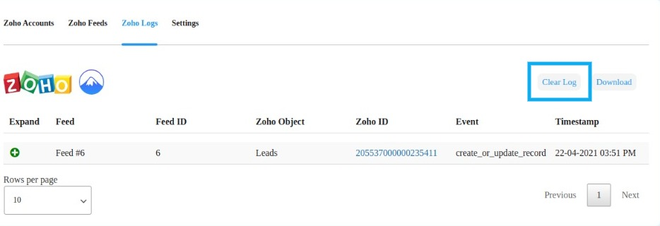 MWB CF7 Integration with ZOHO CRM