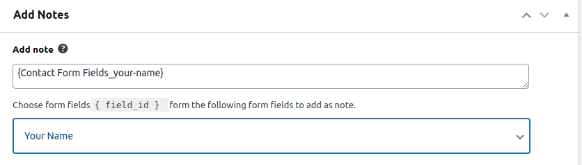 Conatact form 7 with zoho