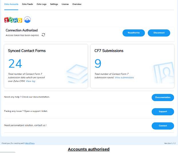 connection auth