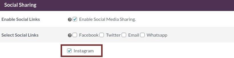 social sharing instagram