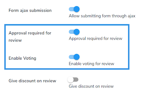 enable ajax form submission