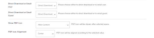 PDF generator icon