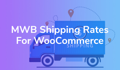 shipping rates for woocommerce