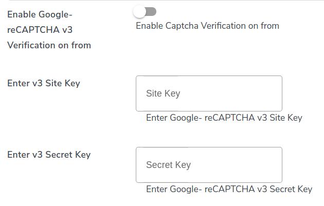 recaptcha verification