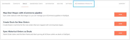 HubSpot WooCommerce Integration plugin