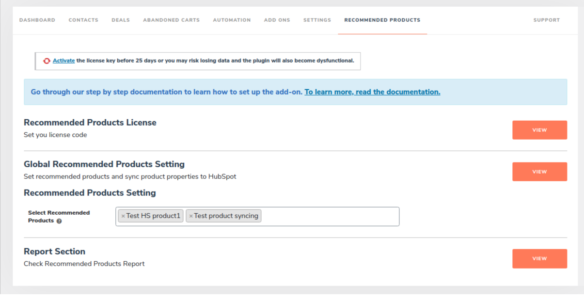 HubSpot ‹ WP1 (3) - recommended plugin