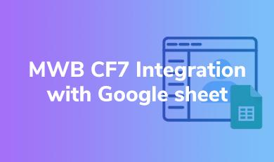 CF7 Integration with Google sheet OG