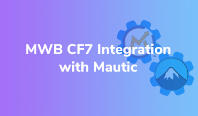 cf7 integration with mautic