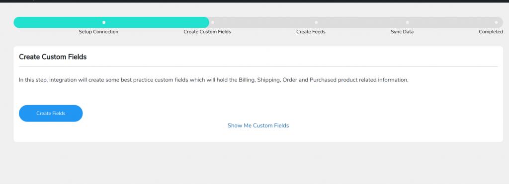 create feeds dashboard