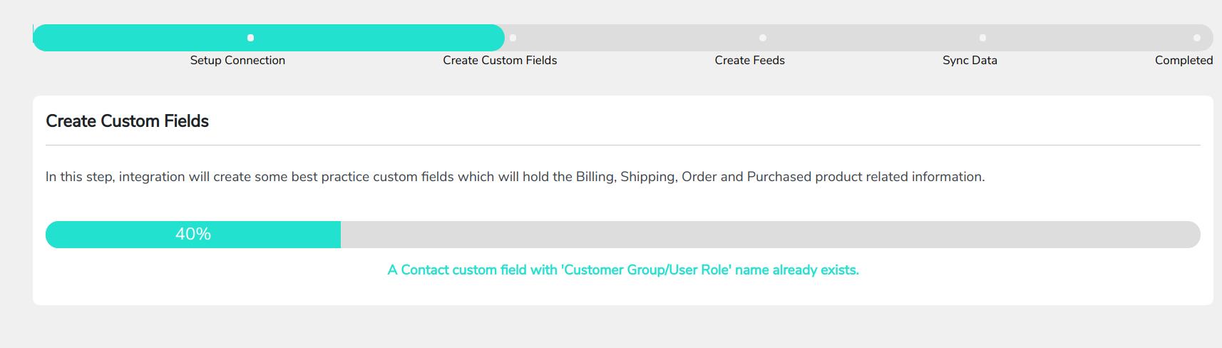 create custom feeds details