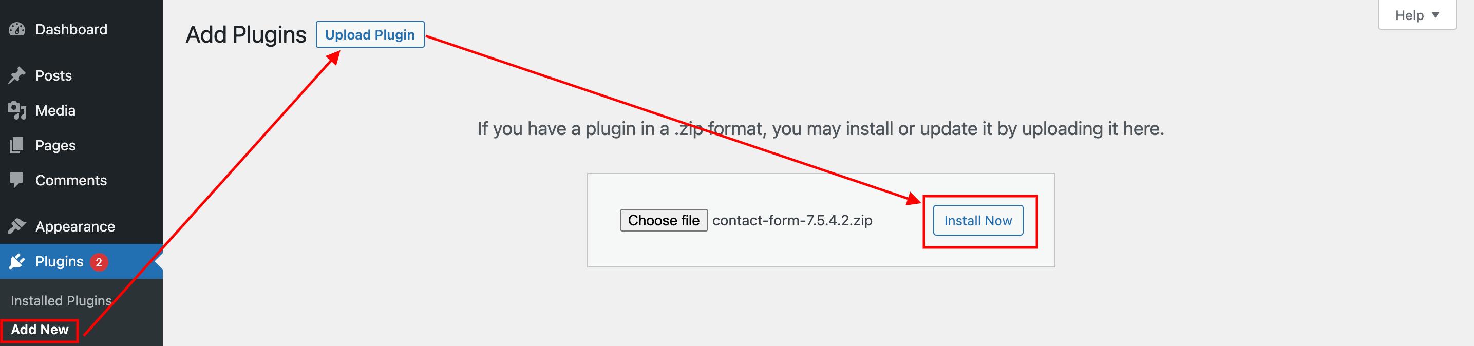 cf7 upload plugin