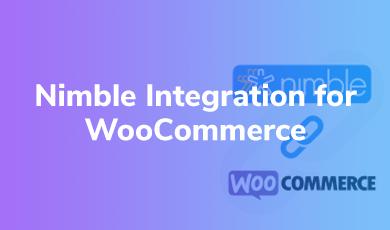 Nimble Integration for WooCommerce