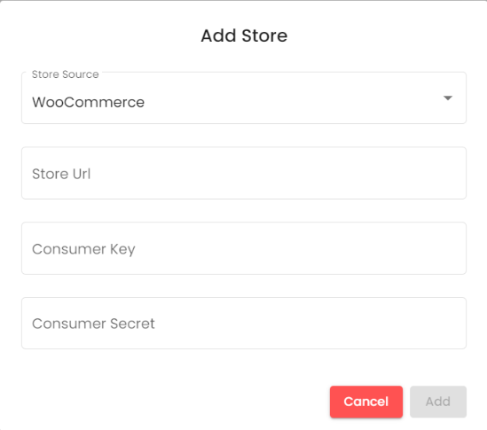 add a store : HubSpot Automated Coupons with WooCommerce