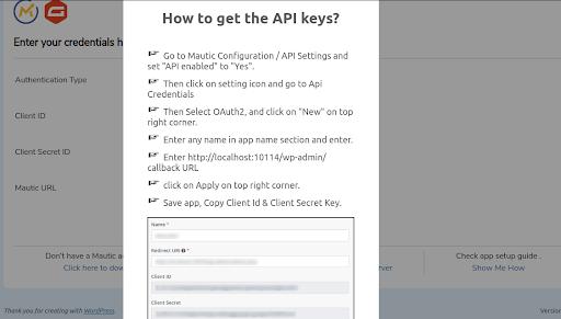 how to get api key
