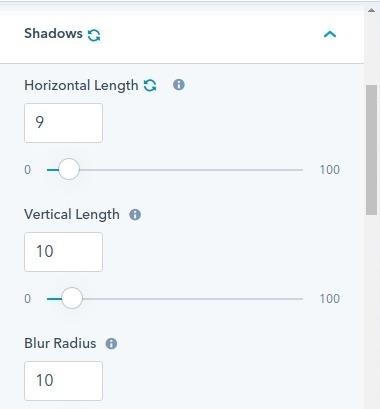 shadows : hubspot theme