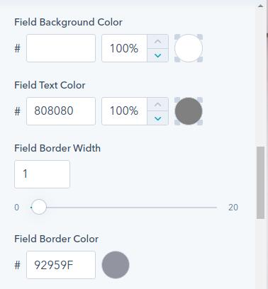 field background : hubspot theme