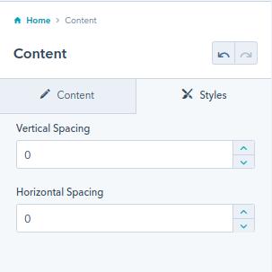 content module : hubspot theme