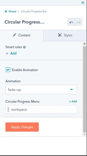 The Circular Progress Bar module