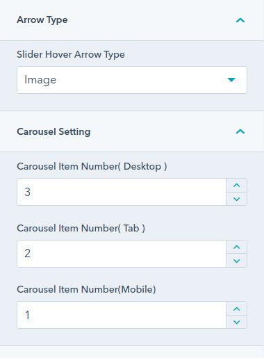 arrow type : hubspot theme