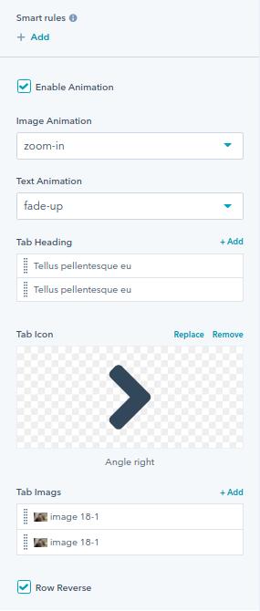 Vertical Tabs module : hubspot theme
