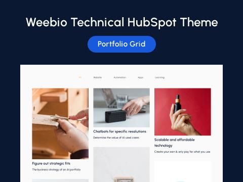 Portfolio Grid Layout Page