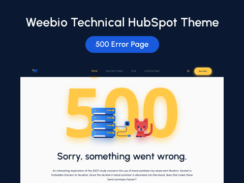 505 Error Page