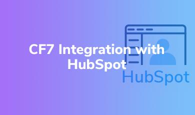 CF7 Integration with HubSpot