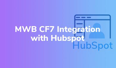 MWB CF7 Integration with HubSpot